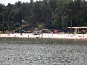 Pláž Staré Splavy