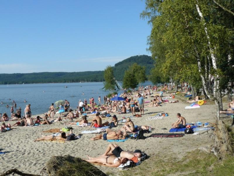 Pláž Klůček, Doksy Máchovo jezero